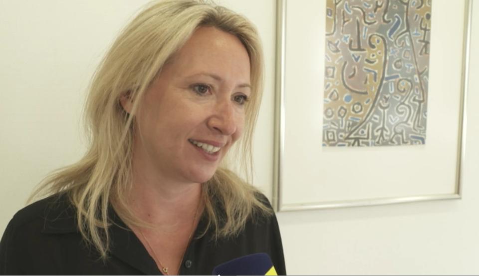 Gwendolin-Etzrodt-Walter im Interview mit Regio TV Schwaben